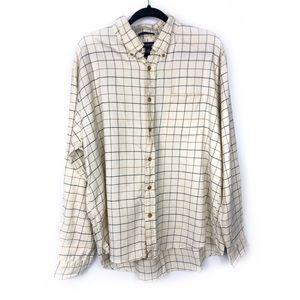 Land's End Men's Flannel size XL ✨